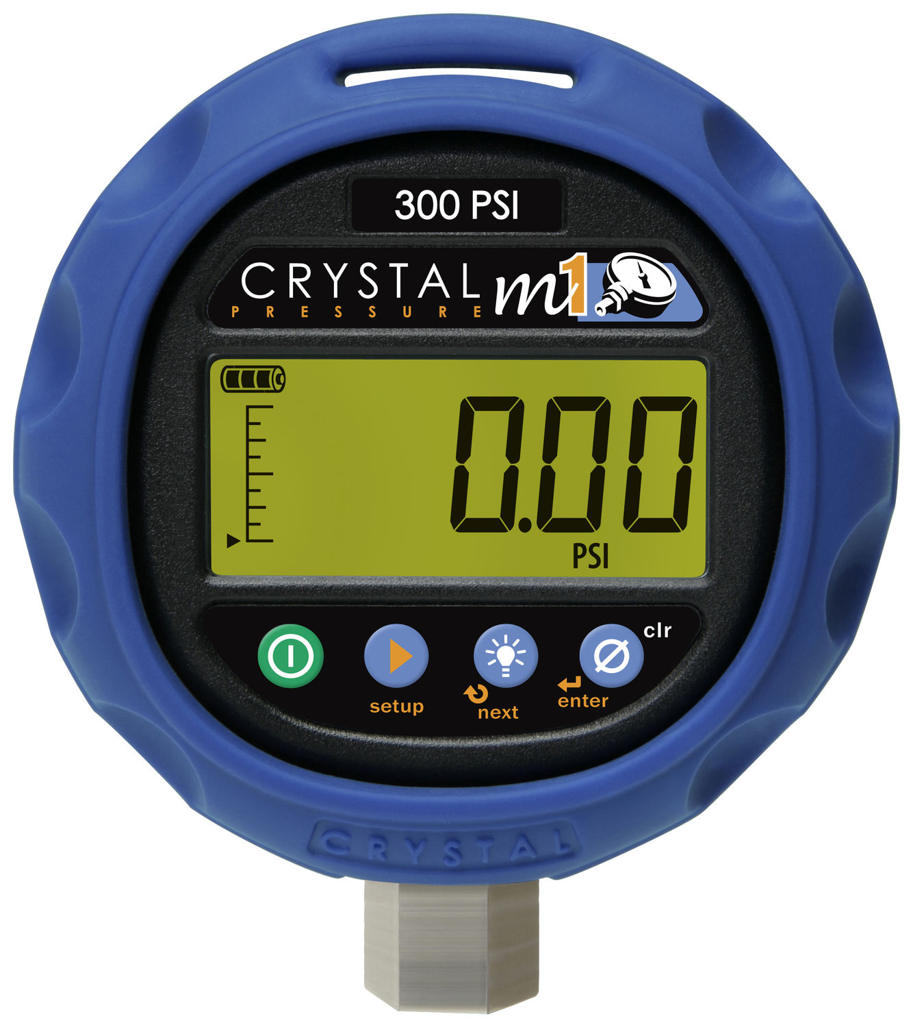 Crystal Digital Test Gauges M1-3KPSI