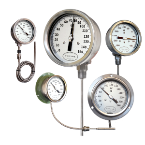 T.P.F. Inc. Direct Drive Thermometers 45MRG-6-200F